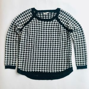 Jack by BB Dakota Nolan Houndstooth Sweater M